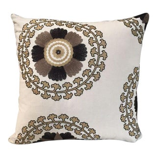 Kim Salmela Embroidered Pillow For Sale