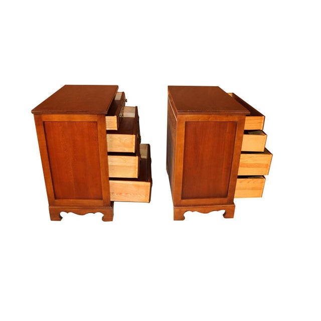 1960s Pair American Permacraft Bachelor's Chests For Sale - Image 5 of 12
