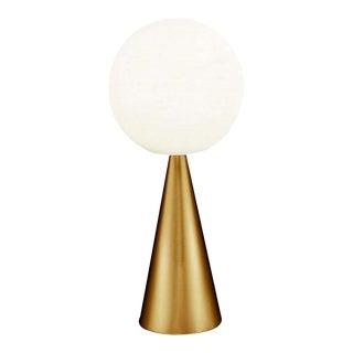 Gio Ponti 'Bilia' Table Lamp in Brass for Fontana Arte For Sale