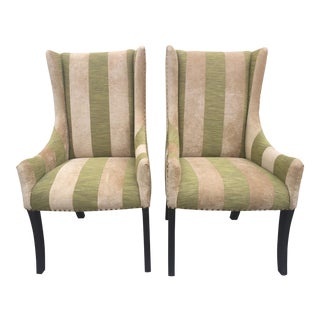 Lounge or Dining Chairs a Pair For Sale