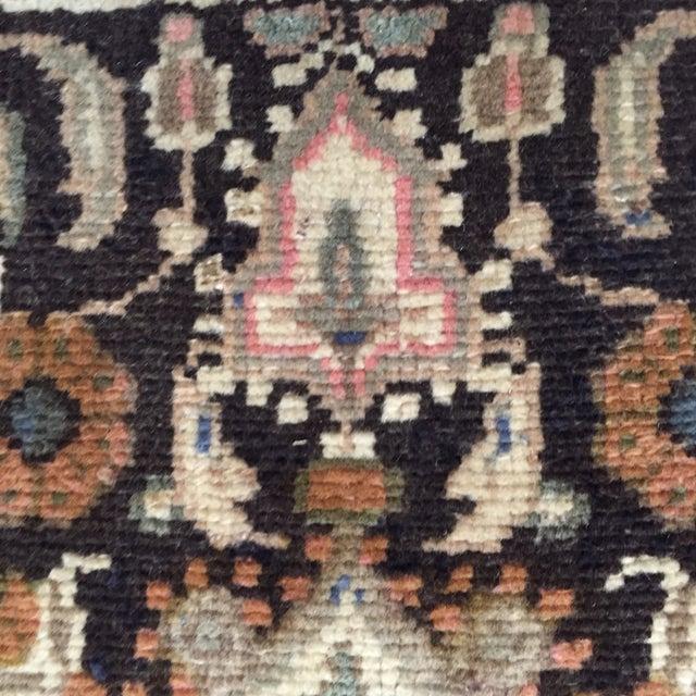 Hamadan Handmade Persian Rug - 1′6″ × 2′2″ - Image 5 of 9