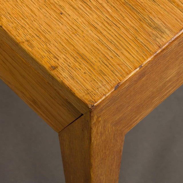 Brown Mid-Century Modern Severin Hansen Oak Writing Desk For Sale - Image 8 of 12
