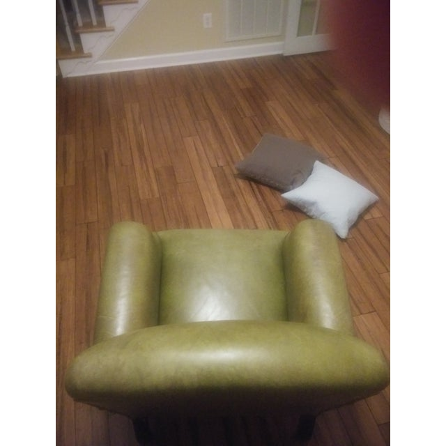George Smith Green Club Chair For Sale - Image 9 of 12