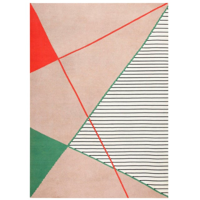 Antonin Kybal Vintage French Deco Rug - 9′6″ × 13′ For Sale