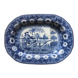 19th Century English Meat Platter For Sale