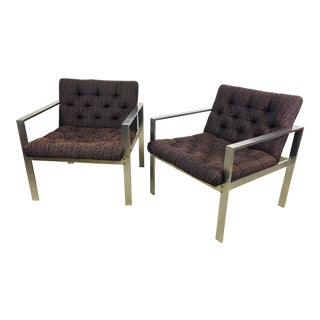 1960s Vintage Harvey Probber Modern Club Chairs – a Pair For Sale