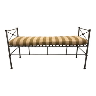 20th Century Giacometti Style Bench For Sale