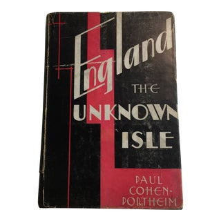 1936 England the Unknown Isle Book