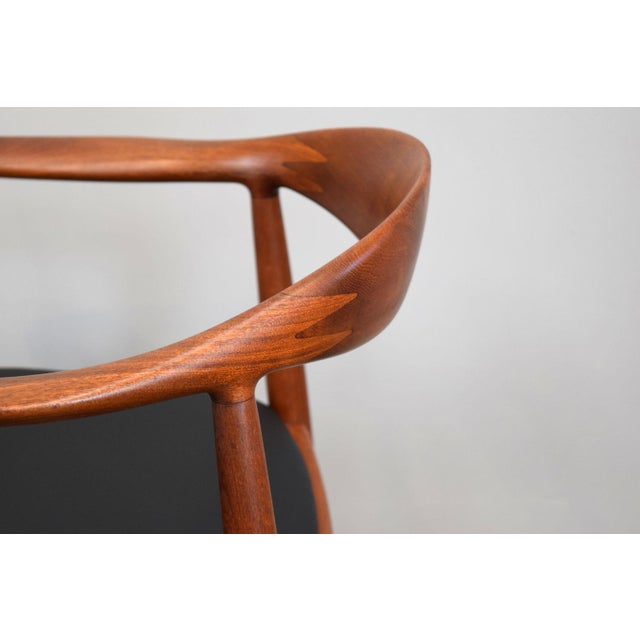 We are very pleased to offer an early Hans Wegner JH-503 chair designed in 1949 and produced by Johannes Hansen. Popularly...