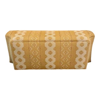 Custom Made Woven Bench For Sale