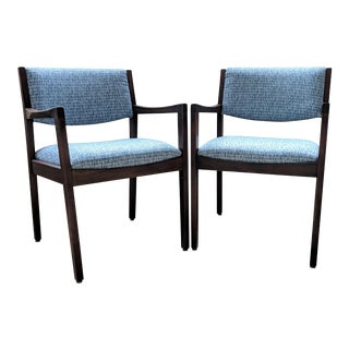 Restored 1970s Vintage Accent Chairs- a Pair For Sale