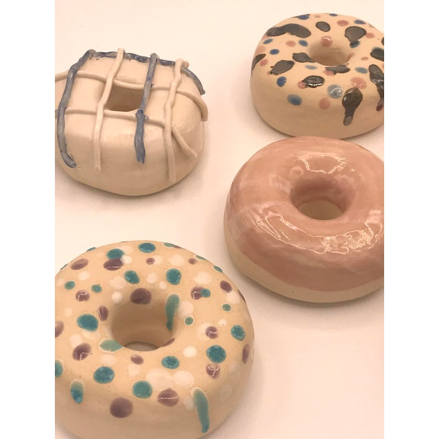 Ceramic Surface Ceramics Wall Donuts - Set of 6 For Sale - Image 7 of 9
