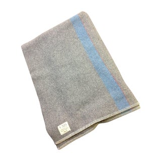 1944 Grey Wool Blanket
