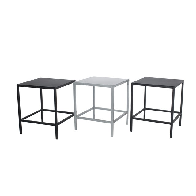 Black Cube Side Table - Image 3 of 3