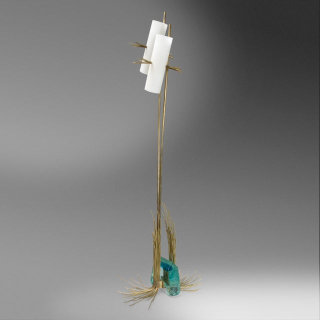 2000 - 2009 Monumental Roberto Giulio Rida Table Lamp For Sale - Image 5 of 6