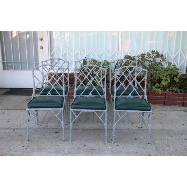 Venemen Outdoor Cast Iron Patio Set For Sale - Image 9 of 13