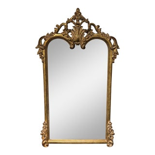 John Richards Empire Style Gilt Wall Mirror