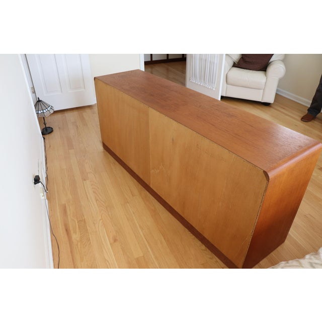 1970s Danish Modern Teak Dresser For Sale - Image 5 of 7