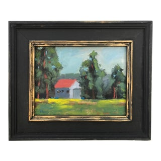 Fall River Mills - Plein Air Oil Painting For Sale