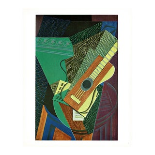 "1940s Juan Gris ""The Guitar on the Table"" Still Life From Switzerland For Sale"