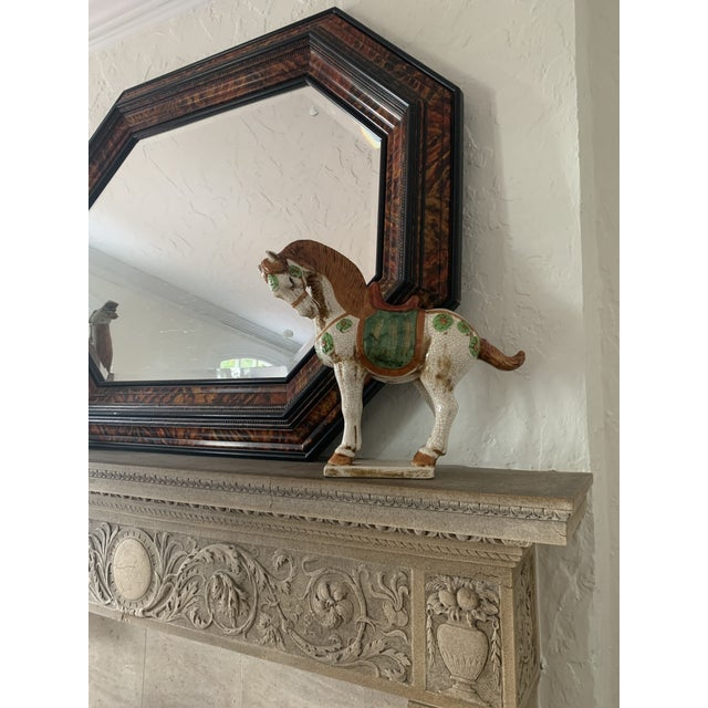 Eggshell Early 20th Century Sancai-Style Ceramic Camel and Horse - Set of 2 For Sale - Image 8 of 10
