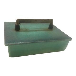Vintage Royal Haeger Glazed Ceramic Box