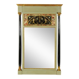 20th Century Italian Empire Wall Mirror For Sale