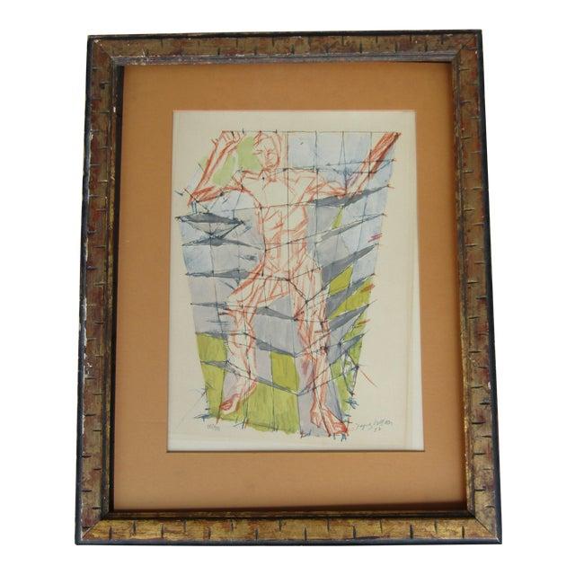 Jacques Villon Original Signed & Number Villon Cubist Lithograph For Sale