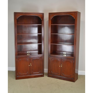 Councill Mahogany Pair of Tall Bookcases Preview