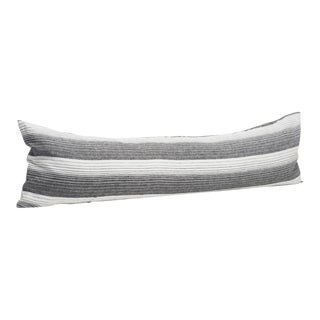 Cortina Black Striped Pillow