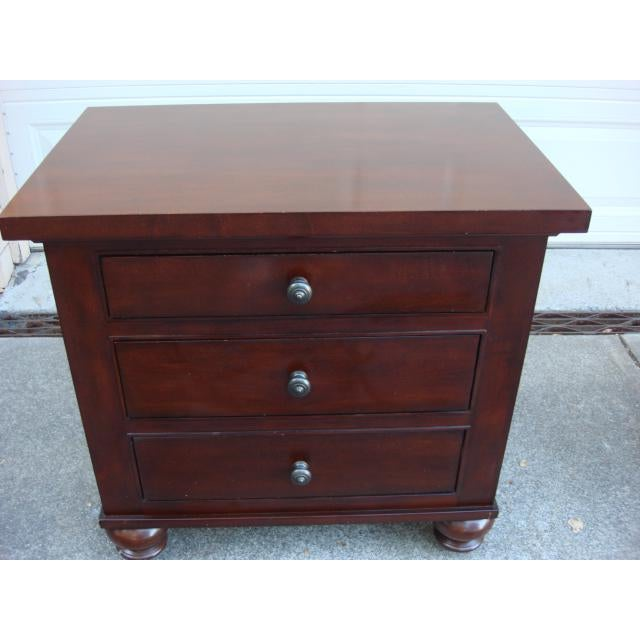 2010s Restoration Hardware Camden Nightstands - A Pair For Sale - Image 5 of 8