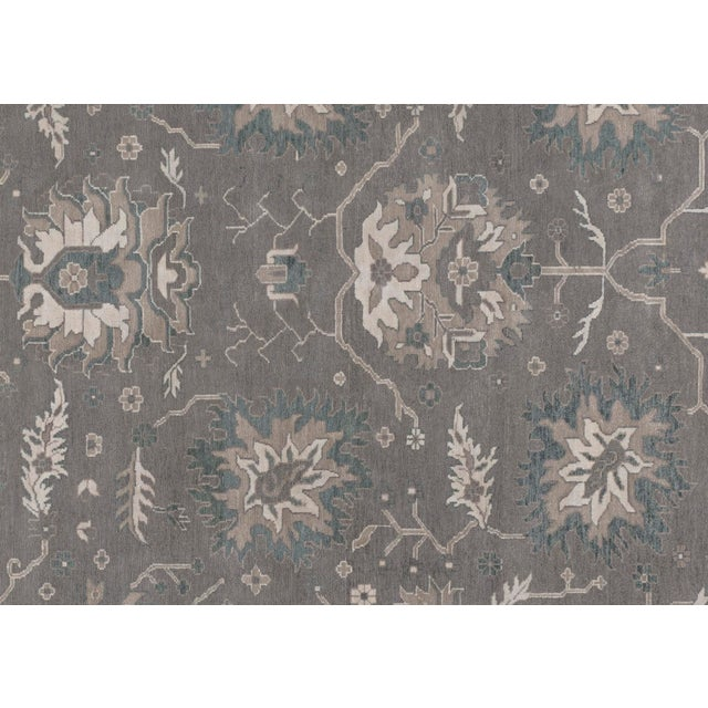 2010s Stark Studio Rugs Traditional Mali Wool Rug - 8′ × 9′10″ For Sale - Image 5 of 5