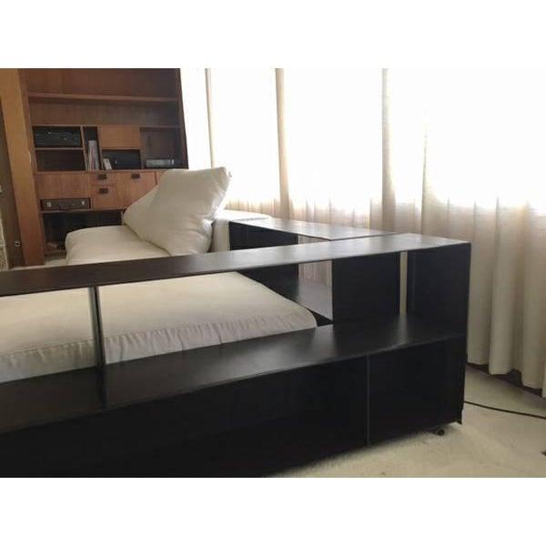Brown Flexform Custom Made Groundpiece Sofa For Sale - Image 8 of 11