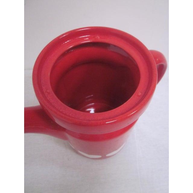 Waechtersbach German Red Heart Teapot - Image 3 of 7