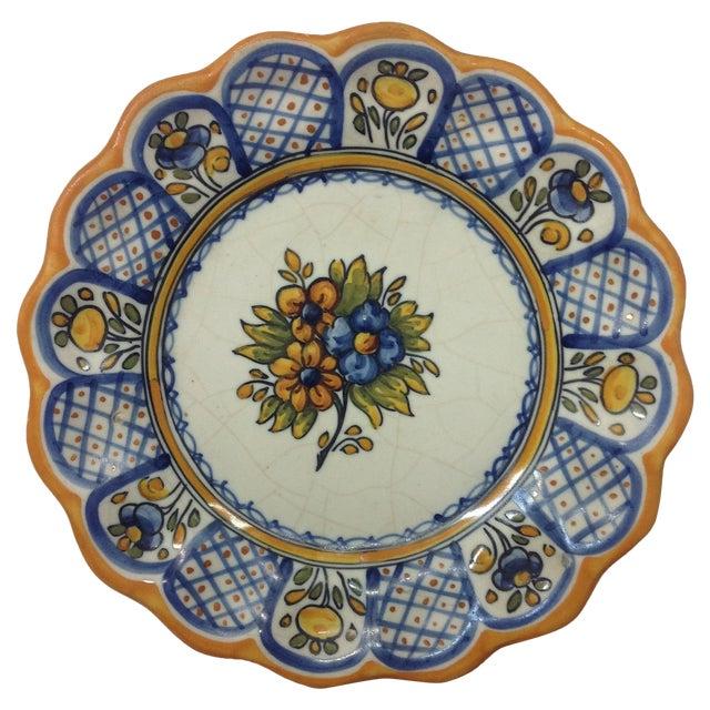 Talabricense Puebla Talavera Charger - Image 1 of 4