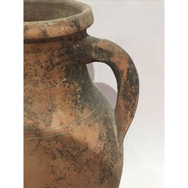 Mediterranean Turkish Ceramic Olive Oil Pot - Image 6 of 9