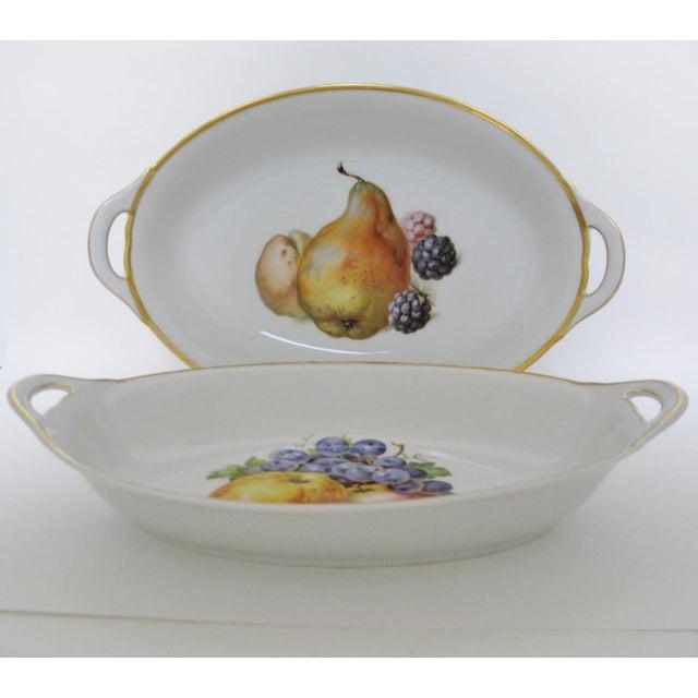 Vintage Bavarian Serving Bowls - a Pair - Image 3 of 8