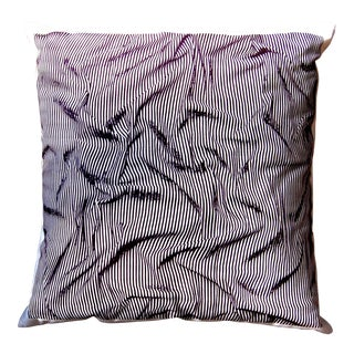 """Ripples"" Smoke Color Throw Pillow For Sale"