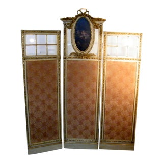 Portuguese Three Panel Screen For Sale