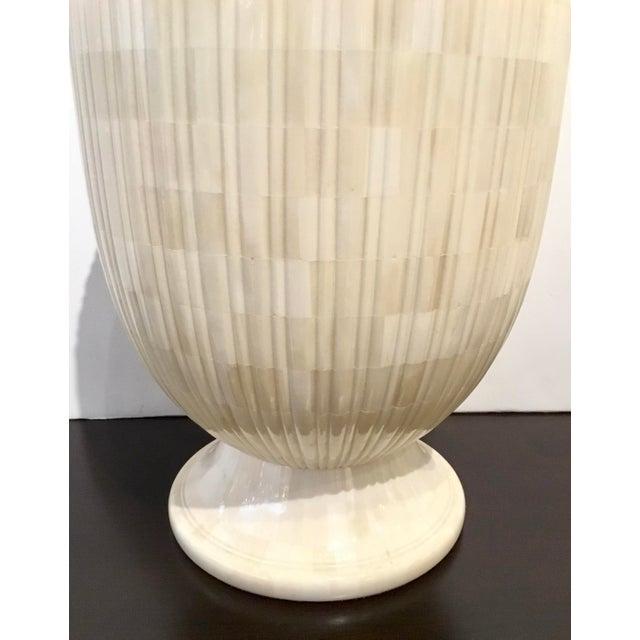 Showroom Modern Mosaic Bone Vase For Sale - Image 4 of 5