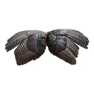 Vintage Turkey Feathers