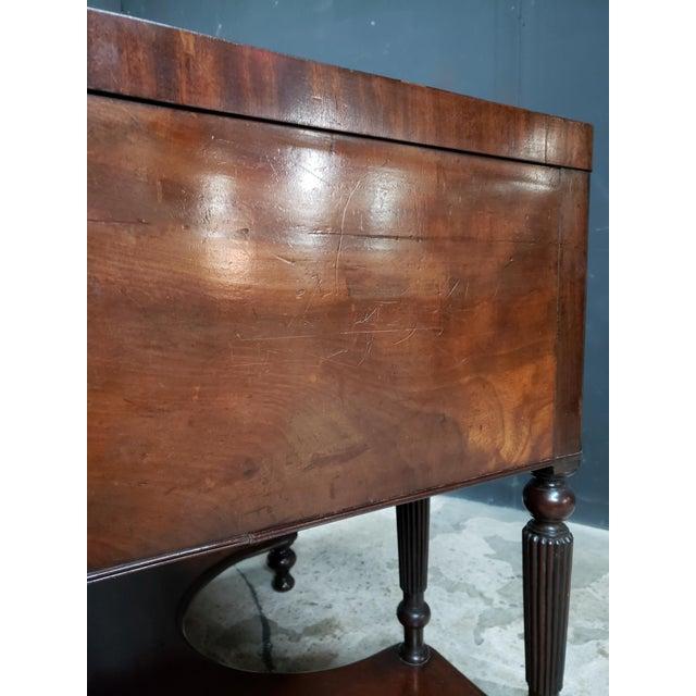 Georgian Mahogany Lift Top Dressing Table For Sale In Atlanta - Image 6 of 13