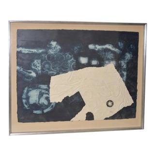 """Antoni Clavé """"Signes Et Ficelle"""" Carborundum Etching with Aquatint C.1970 For Sale"""