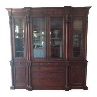 Ralph Lauren Mahogony Weathersby Bookcase For Sale