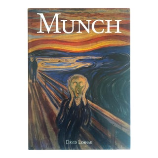 """ Munch "" First Edition Vintage 1990 Expressionist Hardcover Art Book"