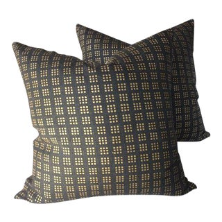 "Groundworks Lee Jofa ""Paradox"" Pillows - a Pair"