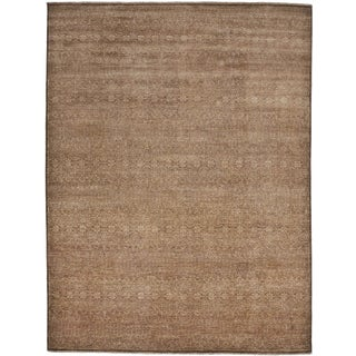 """Hand Knotted Indian Rug - 9'2""""x 12'"""