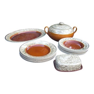 Lalins Country French Dinnerware - 14 Pieces
