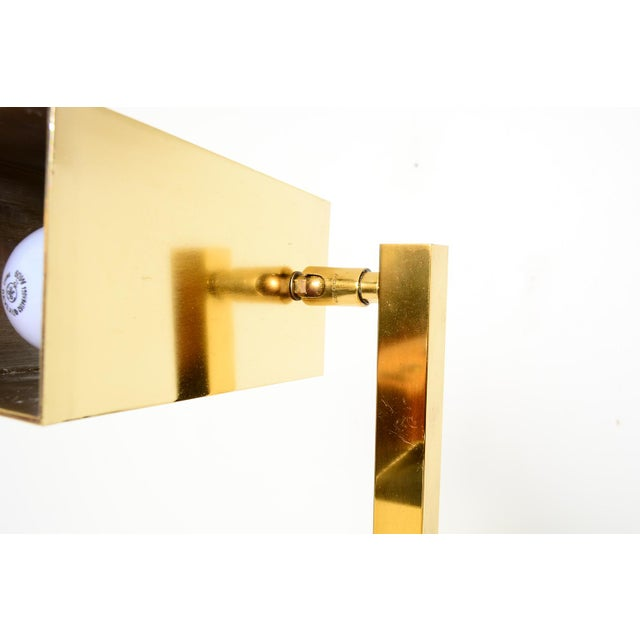 Brass Koch & Lowy Floor Lamps - a Pair For Sale In San Diego - Image 6 of 7
