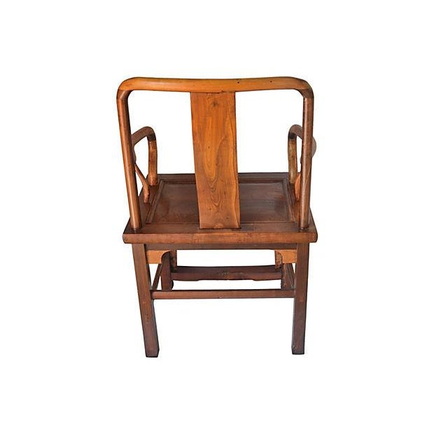 Vintage Ming Style Rosewood Armchair - Image 4 of 6